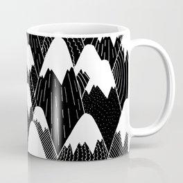 Snow Tops Pattern Coffee Mug