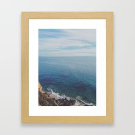 Malibu Days Framed Art Print