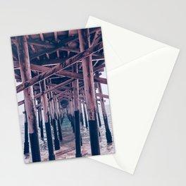 Balboa Pier Print {2 of 3} | Newport Beach Ocean Photography Magenta Summer Sun Wave Art Stationery Cards