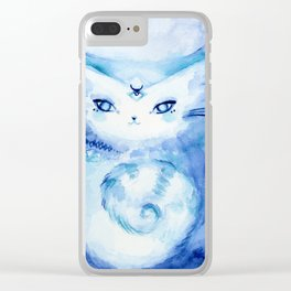 Serena Cat : Peace Clear iPhone Case