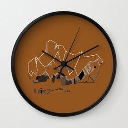 Crush. Wall Clock