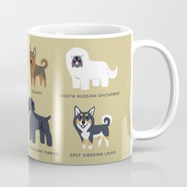 RUSSIAN DOGS Coffee Mug