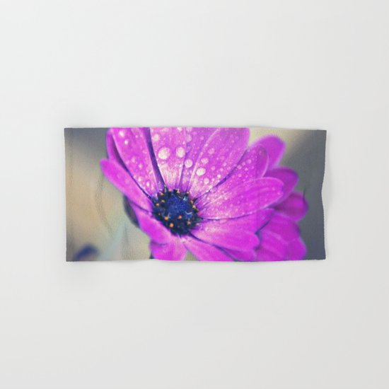 Sunshine flower purple Hand & Bath Towel