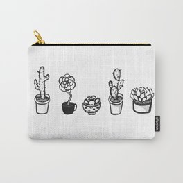 Cactus Line Carry-All Pouch