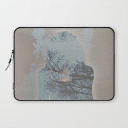 A Ghost in the Trees Laptop Sleeve