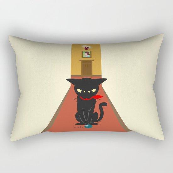 In the corridors Rectangular Pillow