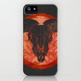 Ram Skull iPhone Case