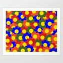 Colorful Flowers Red Blue Green Orange by beautifulcuteness