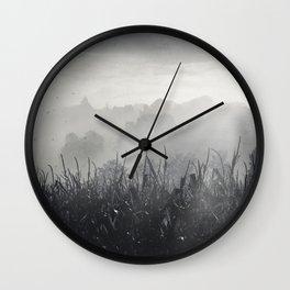 veiled land Wall Clock