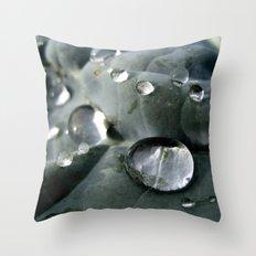 Drops World Throw Pillow