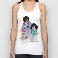 80s Tank Tops featuring '80s Babies  by Martin Matamoros