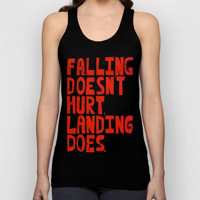 Falling Unisex Tank Top