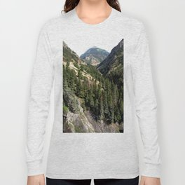 Driving the Spectacular, but Perilous Uncompahgre Gorge, No. 1 of 6 Long Sleeve T-shirt