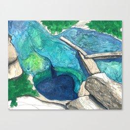 Jacob's Well Canvas Print