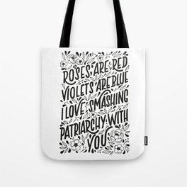 Smashing Patriarchy Tote Bag