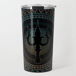 Trisula  -Trident of Shiva Travel Mug