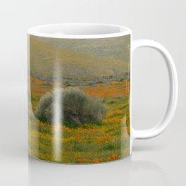 Poppy Field Backside Coffee Mug