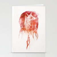 30 seconds to mars Stationery Cards featuring Mars by Robert Farkas