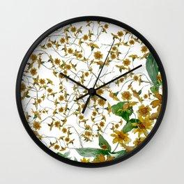 DAILY DAISY Wall Clock