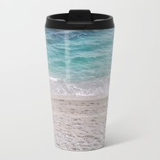 Sand Meets Water Metal Travel Mug