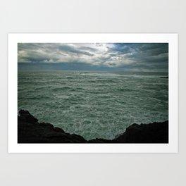 Pacific Ocean in May Art Print