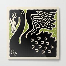 Black Swan 123 Metal Print