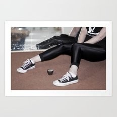 SHE OWNS IT - FEAT PRINCESS LUCY CANE X Art Print