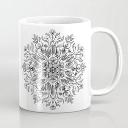 Thrive - Monochrome Mandala Coffee Mug