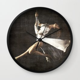 The Pole Dancer Wall Clock