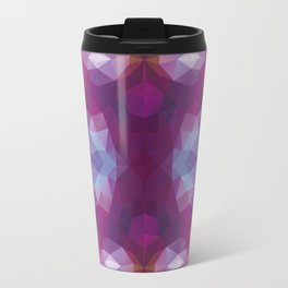 Kaleidoscopic design in soft purple colors Travel Mug
