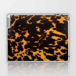 Art Deco polished Tortoise Shell Laptop & iPad Skin