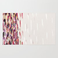 river Area & Throw Rugs featuring River by Georgiana Paraschiv