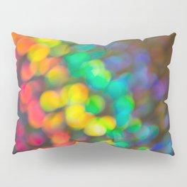 Rainbow Bokeh 1 Pillow Sham