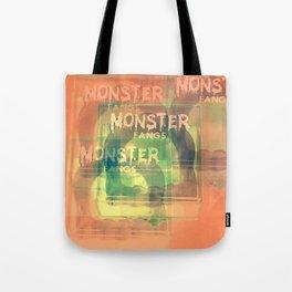Monster Fangs Tote Bag