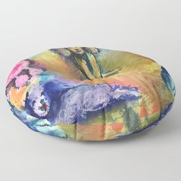 Poodles Floor Pillow