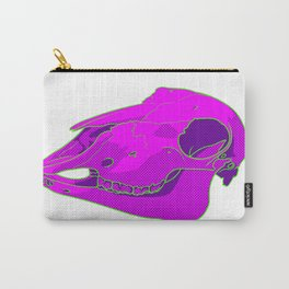 Neon Sheep Skull Carry-All Pouch