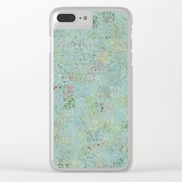 Swamp Stomp Clear iPhone Case