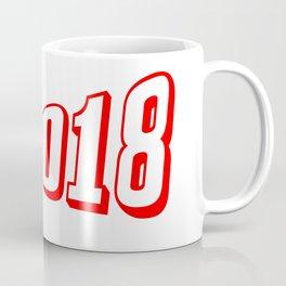 Red 2018 Megaphone Coffee Mug