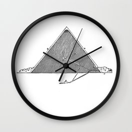 The Great Pyramid (no caption!) Wall Clock