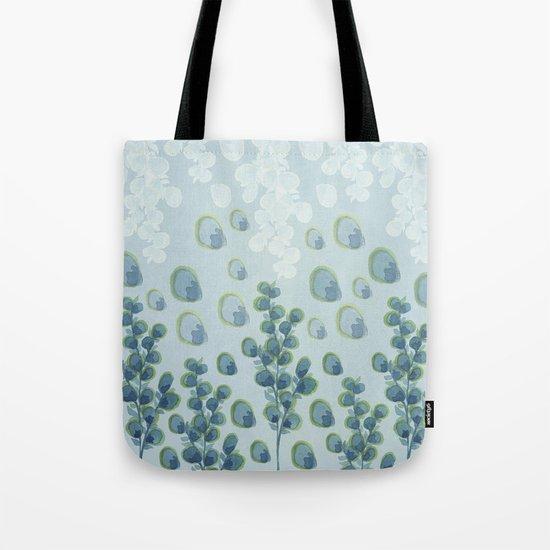 Painted floral Pattern 01 Tote Bag