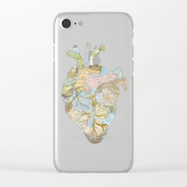 A Traveler's Heart (N.T) Clear iPhone Case