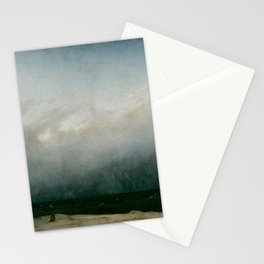 Caspar David Friedrich - The Monk by the Sea Stationery Cards