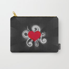 Illuminated Heart Carry-All Pouch