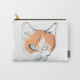 Kitten with a Soul Patch Carry-All Pouch