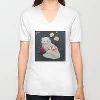 starwars V-neck T-shirts featuring Wilco - StarWars by NICEALB