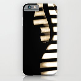 Feel that bass! iPhone Case