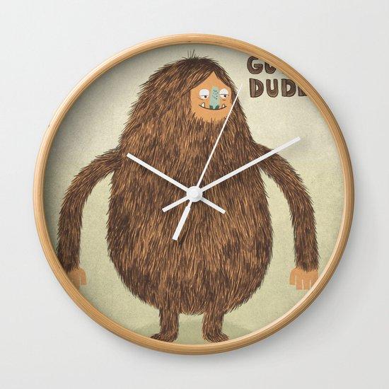 Sounds Good Dude Wall Clock