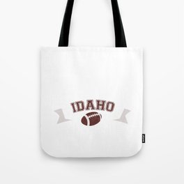 Just a Baller from Idaho Football Player Tote Bag