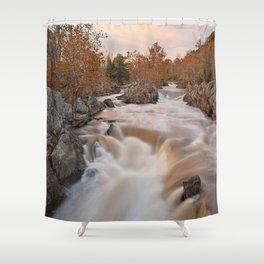 Great Autumn Falls Shower Curtain