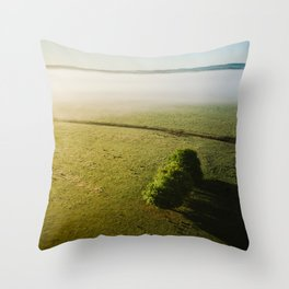 Yarra Valley Melbourne Printable Wall Art | Australia Landscape Aerial Travel Photography Print Throw Pillow
